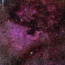 North America and Pelican Nebulas,                                sergio.diaz