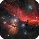 Horse Head & Nebula Flame - Rgb only,                                Giambattista Rizzo