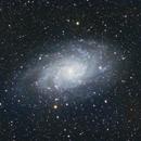 M33, galaxie du triangle,                                Yoann35