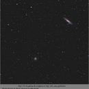 NGC 253 et Télé de 300 reduit,                                papilain