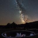 Milky way and the lake,                                Alan Ćatović