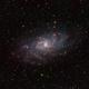 Triangulum Galaxy,                                Pawel Zgrzebnicki