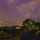 Mars-Milkyway-Saturn-Venus Pano jpg,                                Tom Robbe
