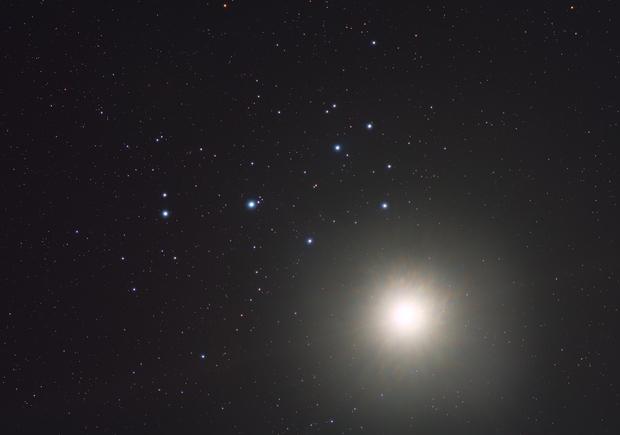 Venus and Pleiades Conjunction,                                Scott Tucker