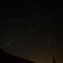 Conjonction de Mars & Jupiter près de la Vierge,                                FranckIM06