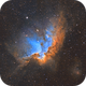 The Wizard nebula,                                Trần Hạ