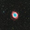 NGC 7293 The Helix Nebula - RGB and NB combined image,                                JohnAdastra