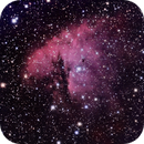 NGC 281 Pac-Man-Nebel,                                fragro