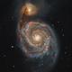 M51 - The Whirlpool Galaxy,                                Rocinante