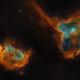 Heart & Soul Nebula - IC1805, IC1848,                                Vincent Savioz