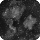 NGC7000 desaturated,                                Christiaan Berger
