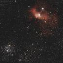 NGC7635 & M52 (NGC 7654),                                Pascal83