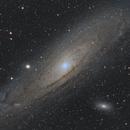 M31 - Galaxie d'Andromède,                                william lequin