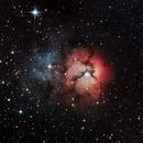 Trifid Nebula - M20,                                Alisson Correa Chervinski