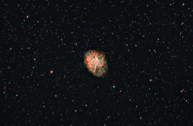 Messier 1 - The Crab Nebula,                                Johannes D. Clausen