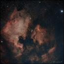NGC7000 & IC5070 - North America & Pelican Nebula,                                Thierry Hergault