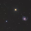 Messier 99, St. Katherine's Wheel,                                Madratter