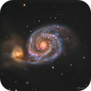 M51 - LRGB (and HaLRGB version),                                RAMON ESPAX