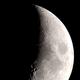 Waxing crescent moon,                                Máximo Bustamante