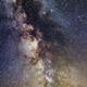 Milky Way in Bieszczady Mountains,                                Łukasz Sujka