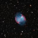Messier 27 - Dumbbell Nebula,                                Dave Keith