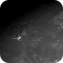 Impressions of the 12 Days old Moon (Monochrome),                                astropical