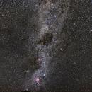 Milky Way Southern Part,                                Seiji Matsuda