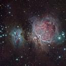 Orion & Running Man Nebula,                                Stan Noble
