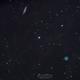 Nébuleuse du Hibou et galaxie de la planche de surf,                                Cedric