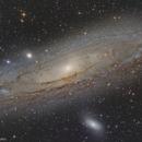 M31 Andromeda Galaxy,                                Stamatis Paraschakis
