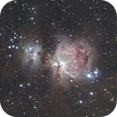 Orion Nebula, Horse Head Nebula and Flame Nebula,                                Eric MAZALEYRAT