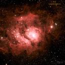 M8 The Lagoon Nebula,                                Jeff Padell