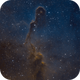 The Elephant's Trunk, IC 1396 in SHO,                                Madratter