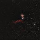 Barnard33 (Horsehead-Nebula) und NGC2024 (Flame-Nebula),                                wittinobi