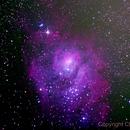 Lagoon Nebula Final version,                                Chris Price