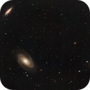 First LRGB experiment with RASA11: M81/82,                                rayp