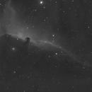 IC 434 Halpha Tested by DIY debayered Canon 60D,                                Niko Geisriegler