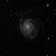 Messier 101 - The pinwheel galaxy,                                Jean-Marie MESSINA