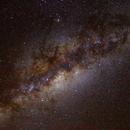 Voie lactée au Maïdo (2190 m),                                Ariel