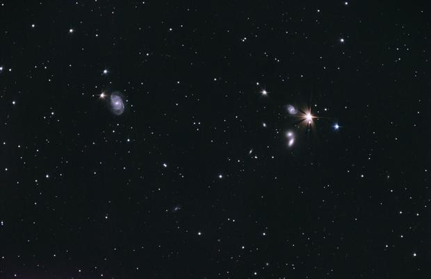 NGC 5371 und Hickson 68,                                Hamster1776