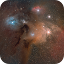 Rho Ophiuchi Cloud Complex, Widefield (LRGB, 2021),                                Jesse Priolo