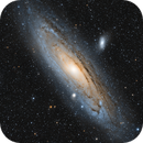 M31 and company in an 8 Panel Mosaic,                                Frank Zoltowski