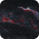 NGC 6960 - The Witch's Broom Nebula (Western Veil & Pickering's Triangle),                                Henrique Silva