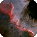 The Wall - Ngc7000 Without stars,                                Salvopa
