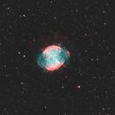 Dumbbell Nebula (M27) in HOO,                                Chuck's Astrophot...