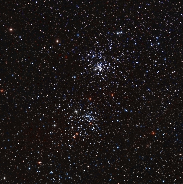 NGC 869 & NGC 884 The Double Cluster LRGB,                                Astrovetteman