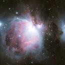 Orion Nebula + Running Man,                                UN73
