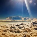 Aegean Sea :  storming clouds,                                Theodore Arampatz...