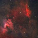 Cave Nebula Wide Field (Sh2-155, Sh2-154, VdB155, NGC 7419),                                Gary Lopez