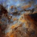 Details in Carina Nebula,                                Christian_Hilbert